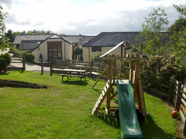 Cottages & Play area